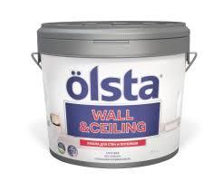 <b>Olsta Wall & Ceiling</b> купить по выгодной цене акриловую <b>краску</b> с ...