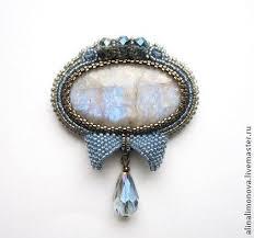 <b>Брошь</b> Blue Shade. <b>Брошь</b> Blue Shade. <b>Лунный</b> камень с голубым ...