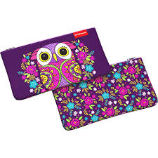 <b>Пенал конверт ErichKrause</b>® 207x114мм Flower Owl 46261 ...