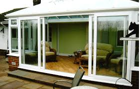 panel sliding glass door home