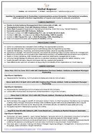 resume sample for marketing  amp  market research       career    resume sample for marketing  amp  market research