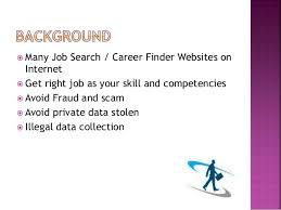 career finder safety criteria