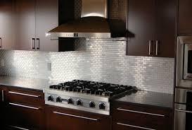 kitchen backsplash stainless steel tiles:  stainless steel tile backsplash beauteous metal kitchen tiles backsplash