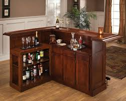 this cherry l shaped home bar is fairly large for a bar cabinet you can buy home bar furniture