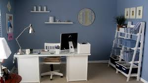 blue home office design with white furniture and neat hd picture here home interior design beautiful home office furniture inspiring