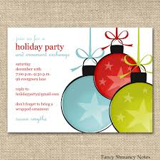 holiday party email invitation template ctsfashion com best images of office holiday party invitation templates