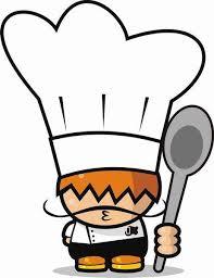 Resultado de imagen de cocineros y libros niños dibujos