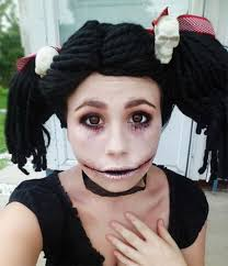 15 scary doll make up looks ideas