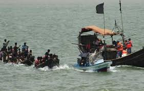 22 persons have died in the accident as their boat capsized in the sea in the Andaman & Nicobar Islands.