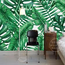 room styling uk asia southeast asia wallpaper tropical rainforest wall mural banana leaf d