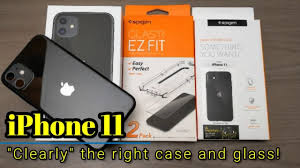 """<b>iPhone</b> 11 - """"Clearly"""" the right case and <b>tempered glass</b> from Spigen ..."""
