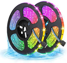 LED Strips Lights <b>10m Waterproof</b>, <b>RGB</b> 5050 LEDs Colour ...
