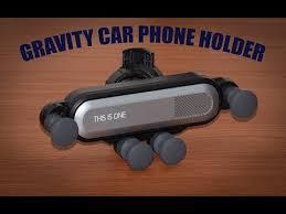 <b>Air Vent</b> Clip Mount <b>Gravity Car</b> Phone Holder - YouTube