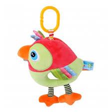 <b>Подвесная</b> музыкальная <b>игрушка LORELLI</b> (<b>BERTONI</b>) <b>Toys</b> Попугай