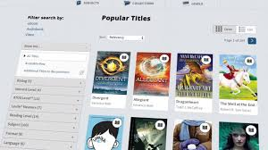 overdrive school library website overview videos