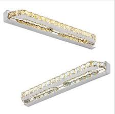bathroom led crystal mirror light anti fog front lamp mini style modern wall lights lampara de pared stainless steel lamps affordable bathroom lighting affordable bathroom lighting