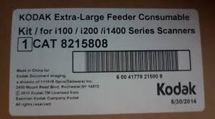 <b>Kodak Feeder Consumables</b> Kit for 14000 Series 8327538 for sale ...