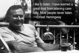 Image result for Hemingway