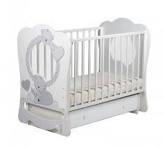 Детская <b>кроватка Кубаньлесстрой Baby Sleep</b> 7 БИ 133.2 ...