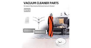 <b>6Pcs Vacuum Cleaner</b> Parts <b>HEPA Filter</b> Cleaning Tool Side Brush ...