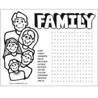 Small Picture Flower Word Search and Coloring Page