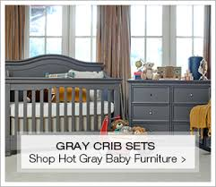 shop hot gray cribs and nursery sets baby furniture images