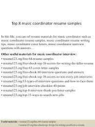 topmusiccoordinatorresumesamples lva app thumbnail jpg cb