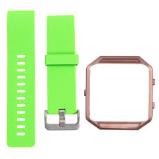 15 22mm Rose Gold Frame+<b>Soft Silicone Watch band</b> Replace ...