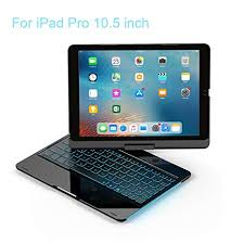 Amazon.com: iPad Keyboard Case 10.5 Pro / <b>360 Degree Rotatable</b> ...