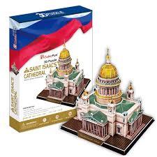 Купить 3D пазл <b>Cubicfun Исаакиевский собор</b> (Россия) MC122h в ...