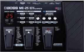 Купить <b>Boss</b> Guitar Multiple Effects ME-25 - <b>гитарный процессор</b> по ...