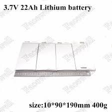 <b>3pcs</b>/lot <b>3.7v lithium battery</b> 22ah <b>rechargeable battery</b> cells for 12v ...