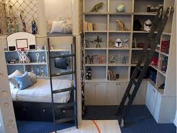 f cool dorm room ideas guys layout with twin bunk beds black stairs and white wooden corner open cabinet as well as gift for men also kids bedroom boys room dorm room