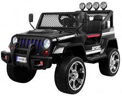 <b>Детский электромобиль</b> Black Jeep 4WD 12V - S2388 — купить с ...