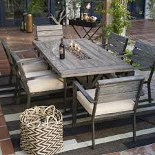 fire pit dining tables