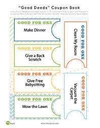 printable blank birthday coupons good