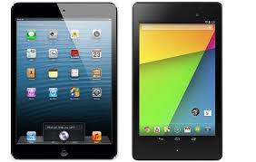 New Nexus 7 2 (2013) vs iPad Mini tablet comparison review ...