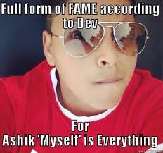 naice ashik dev lol - quickmeme via Relatably.com