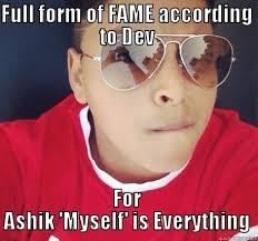 naice ashik dev lol - quickmeme via Relatably.com
