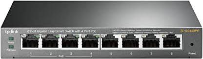 <b>TP</b>-<b>Link</b> 8 Port Gigabit PoE Switch | 4 PoE Port @55W | <b>Easy Smart</b>