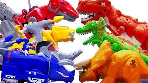 dinosaur ranger rescue team deformation motorcycle transformation robot action figure king kong model boy toy