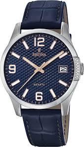 <b>Мужские</b> наручные <b>часы Festina</b> F16982/4 кварцевые