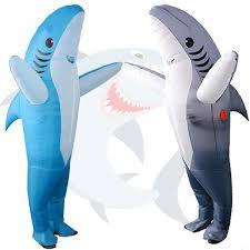 Adult <b>Costume Inflatable Costume</b> Shark Fancy <b>Dress Blow up</b> ...