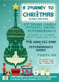 journey to christmas in music and song st john s cic peterborough concert flyer