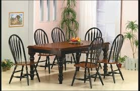 Solid Cherry Dining Room Table Black Simple Black Dining Room Interior Decorating Ideas Tables