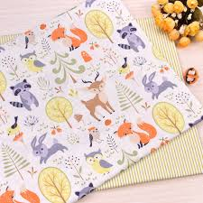40*50cm Cotton fabric sewing <b>Handmade DIY</b> doll Cloth baby pillow ...