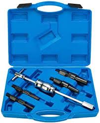 8MILELAKE <b>5pc</b> Blind <b>Inner Internal Bearing Puller</b> Slide Hammer Set