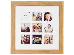 <b>Рамка Fujifilm Instax 9</b> Mount Square Frame Oak деревянная ...