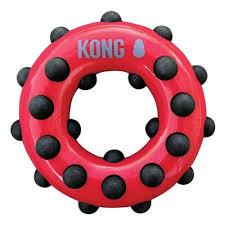 <b>Игрушка</b> для собак <b>KONG Dotz</b> кольцо большое 15 см — купить в ...