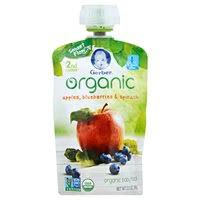 Order Acme - Gerber <b>Organic Baby</b> Food Apples, Blueberries ...